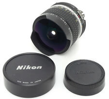 Nikon Fisheye-Nikkor Ai 16mm F2.8 MF Lens. Filter