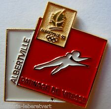 PINS JEUX OLYMPIQUES JO ALBERTVILLE 1992 Original Olympic Games PATINAGE VITESSE