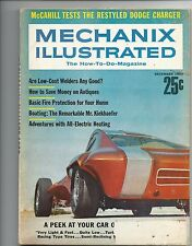Mechanix Illustrated December 1967 The Restyled Doge Charger Good Condition