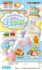 Re-ment Miniature Sanrio Little Twin Stars Dream of Starry Sky Bakery set of8pcs