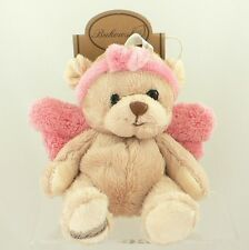 Bukowski Guardian Angel With Baby Pink Wings Teddy Angel Collection 15cms