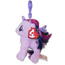 TY Beanie Baby - PRINCESS TWILIGHT w/Glitter Hairs (My Little Pony) (Key Clip)