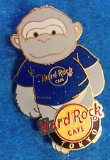 TOKYO JAPANESE GORILLA APE BLUE T-SHIRT CITY BEAR SERIES Hard Rock Cafe PIN LE