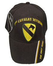 Officially Licensed US Army 1st Cavalry Division Cap 268-BLK