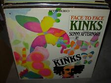 KINKS face to face ( rock ) - stereo tricolor -