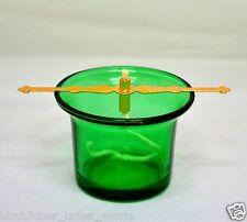 Glas für Öllampe Halter und Docht стакан лампадный стеклянный зеленый держатель