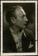Vintage MYSTERY CELEBRITY Signed Photo - Who Is He?