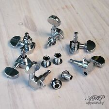 MECANIQUES 3X3 BAIN HUILE style GROVER acoustic electric Guitar Tuning Pegs CHR