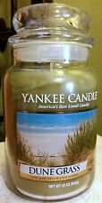 Yankee Candle Dune Grass 22 OZ. First Quality!