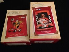 8 Hallmark Ornaments NASCAR Tony Stewart Home Depot Mini Pit Crew Winner Circle