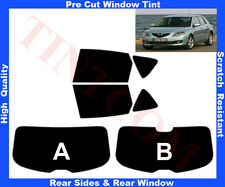 Pre-Cut Window Tint Mazda 3 5D 2003-2009 Rear Window & Rear Sides Any Shade