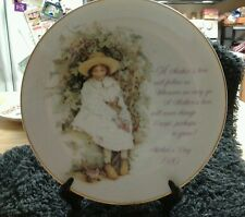 VINTAGE 1980 HOLLY HOBBIE MOTHERS DAY PLATE