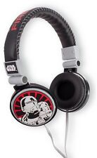 STAR WARS Episode 7 Force Awakens Headphones With Volume control Black and Red