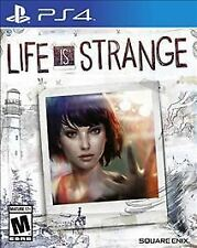 LIFE IS STRANGE PS4 ACTION NEW VIDEO GAME