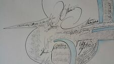 Saul Steinberg (American 1914-1999)Lithograph in color signed and numbered 12/75
