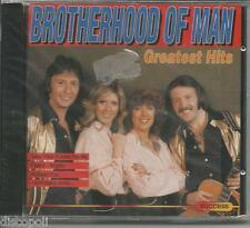 BROTHERHOOD OF MAN - Greatest hits - CD 1993 SEALED