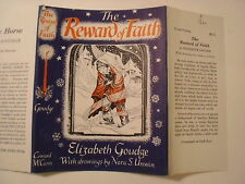 The Reward of Faith, Elizabeth Goudge, Nora Unwin, Dust Jacket Only