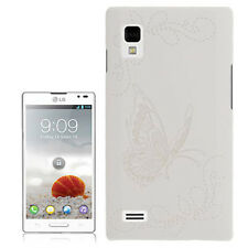 COVER CUSTODIA HARD CASE per LG OPTIMUS L9 P760 BIANCO ULTRA SLIM WHITE HOUSING