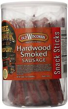 Old Wisconsin Beef Snack Sticks In a Jar, 24Ounce Packages, New, Free Shipping