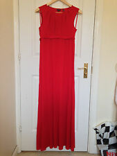 Ted Baker Bright Red Maxi Dress, Size 2