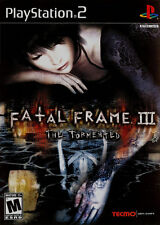 Fatal Frame III: The Tormented PS2 New playstation_2