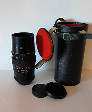 PENTACON 200mm f4 Telephoto  15 Blade M42