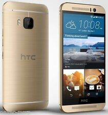 "HTC ONE M9 Gold (FACTORY UNLOCKED) 5"" Full HD , 20.7 MP , 32GB  , 3GB RAM"
