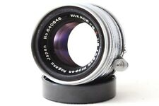 *Exc* Nippon kogaku Nikkor HC 5cm 50mm F2 1:2 Leica LTM39 Mount from Japan