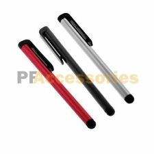 3x Metallic Touch Screen Stylus Pen for iPod iPhone iTouch Kindle HP Slate