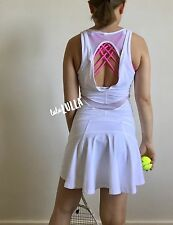 NWT Lululemon Love All Dress Tennis - white - size 4