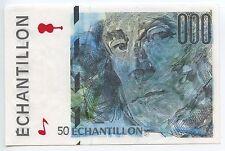 GB252 - Banknote Frankreich 50 Echantillon Testnote Probe