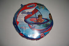 SWIMWAYS BABY SPRING FLOAT SUN CANOPY INFLATABLE SWIMMING POOL FLOAT RAFT TUBE