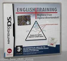ENGLISH TRAINING MIGLIORA IL TUO INGLESE GIOCO USATO OTTIMO DS & 3DS ED ITA NC1