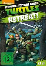TEENAGE MUTAND NINJA TURTLES: S3 V1 RETREAT   DVD NEU