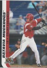 2016 Batavia Muckdogs Colby Lusignan RC Rookie Miami Marlins