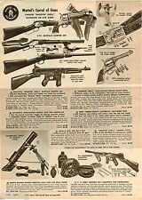1961 ADVERTISEMENT Gun Toy Mattel Rifle Winchester Tommy-Burst Remco Mortar Army