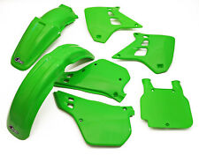 UFO Kawasaki Motocross EVO KX 250 1990 - 1991 MX Plastic Kit OEM colours Green
