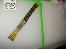 "Vintage Seiko C 245, St. Steel Mens Watch BAND 17 mm lug, 7 1/4""L. for 7N29-8058"