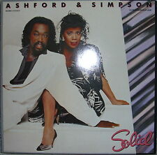 "LP ASHFORD & SIMPSON ""SOLID"" ,NM, Top Zustand ,Capitol 32 294-1"