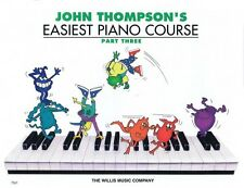 John Thompson's Easiest Piano Course Part 3 Book Only Part 3 - Book on 000414019