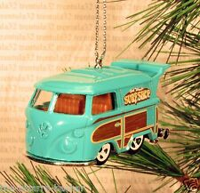 Surf Shop VOLKSWAGEN KOMBI vw micobus CHRISTMAS ORNAMENT Teal bus van XMAS