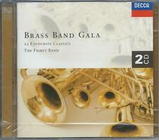 Brass Band Gala - 25 Favourite Classics - The Fairey Band (2CD 1998) NEW/SEALED