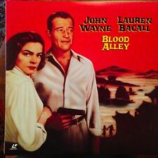 Blood Alley - John Wayne - Widescreen  Laserdisc Buy 6 for free shipping