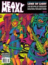 Heavy Metal Magazine #276 Variant Cover By Jack Kirby & Barry Geller