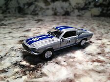 SHELBY COLLECTIBLES 68 SHELBY COBRA GT 500 DIE CAST CAR 1/64 SCALE 1968