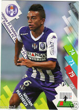 Panini Foot Adrenalyn 2014/2015 - William MATHEUS - FC Toulouse (A1238)