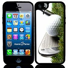 3 Iron Golf Club Hitting Golf Ball For Iphone 6 Case Cover
