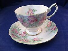 Vintage Royal Albert Tea Cup and Saucer - Wild Rose Pattern - England