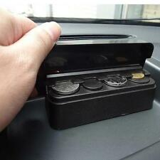 Universal Auto Car Coin Pocket Cases Storage Boxes Plastic Holder Organizer LG