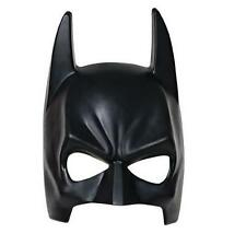 Adult black Batman mask plastic moulded superhero dark knight